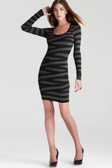 Bailey 44 Striped Dress Long Sleeve - Lyst