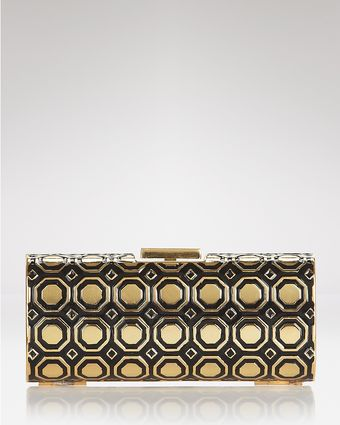 BCBGMAXAZRIA Clutch Jett Hexagon - Lyst