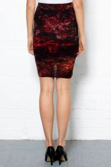 Helmut Lang Midnight Floral Wrap Skirt in Multicolor (midnight) - Lyst