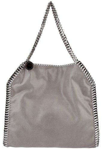 Stella McCartney Chain Trimmed Bag - Lyst