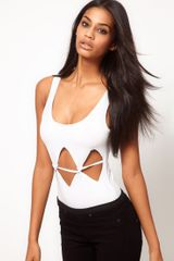 ASOS Collection Body with Slash Front Detail - Lyst