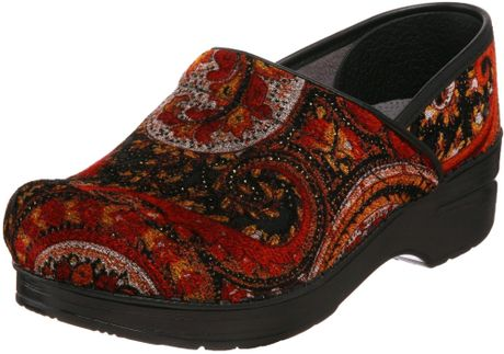 Dansko Dansko Womens Professional Vegan Clog In Red Red