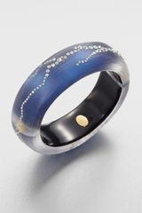 Alexis Bittar Jeweled Lucite Bangle Bracelet