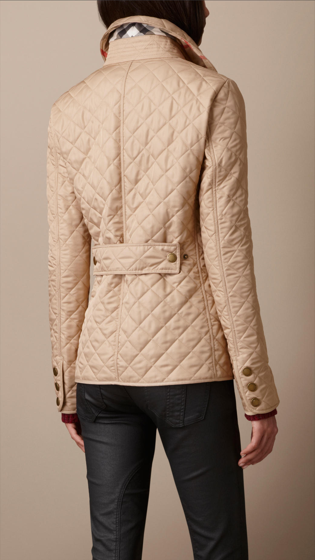 Low Shipping Online Burberry Brit Lightweight Quilted Jacket