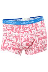 Calvin Klein New York Print Underwear Trunk in Pink for Men - Lyst