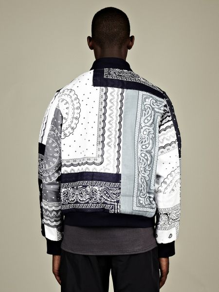 Christopher Shannon Christopher Shannon Mens Paisley Print