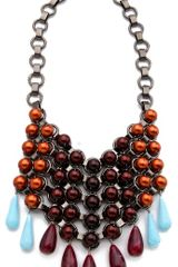 Dannijo Donesia Bib Necklace - Lyst