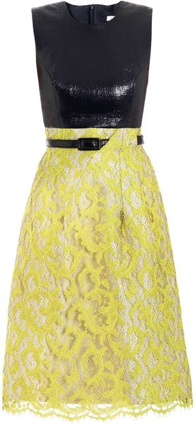 Erdem Nicole Sleeveless Dress - Lyst