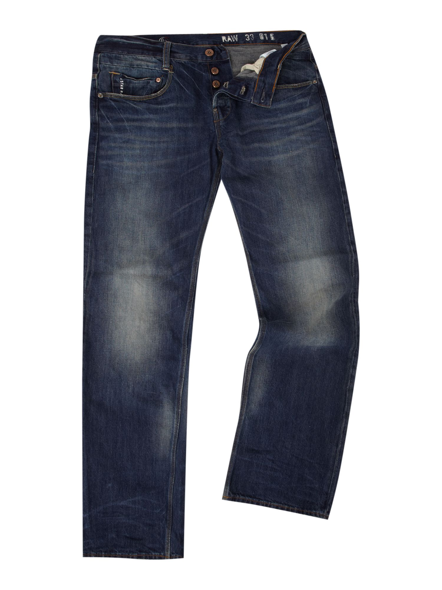 g star raw new radar low loose jeans in blue for men. Black Bedroom Furniture Sets. Home Design Ideas