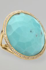 Ippolita Turquoise Lollipop Ring - Lyst