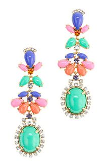 J.Crew Cabochon Fan Earrings - Lyst