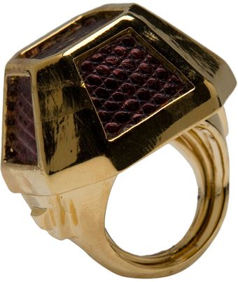 Kara By Kara Ross Tabletop Gemstone Ring - Lyst