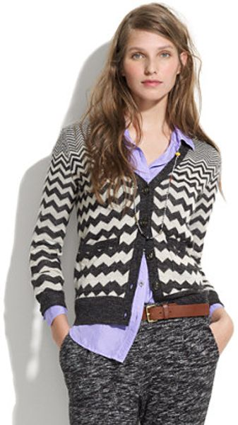 Madewell Graphic Songstress Cardigan - Lyst