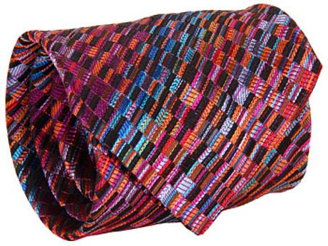 Missoni Dusk Skyline Tie in Orange (o) - Lyst