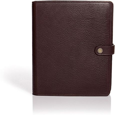 Mulberry Chocolate Planner Natural Veg Tanned in Brown (chocolate) - Lyst