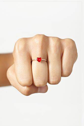 Nasty Gal Heartbreaker Ring - Lyst