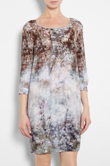 Paul By Paul Smith Bramble Print Tunic Dress - Lyst