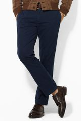 Polo Ralph Lauren Slim Flatfront Military Chino - Lyst