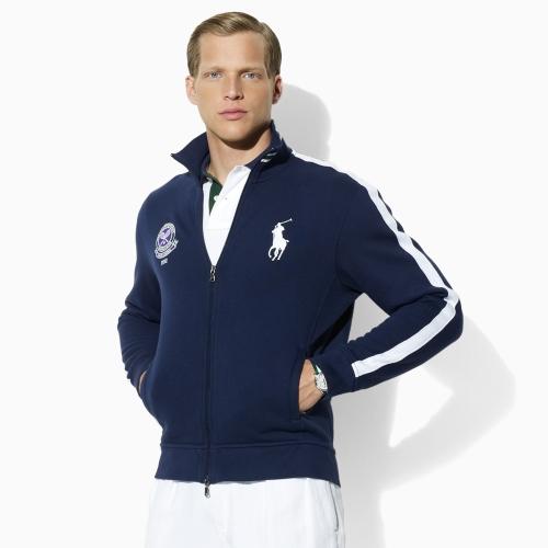 Lyst Polo Ralph Lauren Wimbledon Ball Boy Jacket In Blue