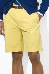 Polo Ralph Lauren Gi Lightweight Chino Short - Lyst
