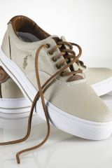Polo Ralph Lauren Vaughn Canvas Sneaker - Lyst