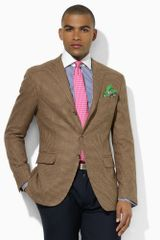 Polo Ralph Lauren Tan Check Sport Coat - Lyst