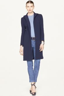 Ralph Lauren Black Label Lorraine Stretch Wool Coat - Lyst