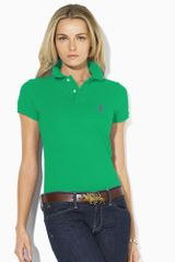 Ralph Lauren Blue Label Skinnyfit Polo - Lyst