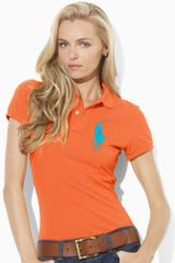 Ralph Lauren Blue Label Neon Big Pony Polo - Lyst