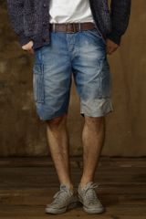 Ralph Lauren Denim Cargo Short - Lyst
