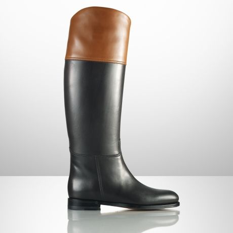 Ralph Lauren Collection Hannie Knee-high Equestrian Boots