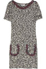 See By Chloé Bobbleknit Woolblend Shift Dress - Lyst