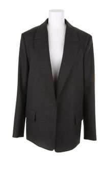 Yves Saint Laurent Straight Jacket in Virgin Wool and Elastane - Lyst