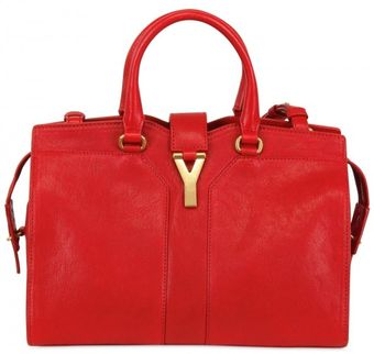 Yves Saint Laurent Mini Cabas Chyc with Strap Shoulder Bag - Lyst