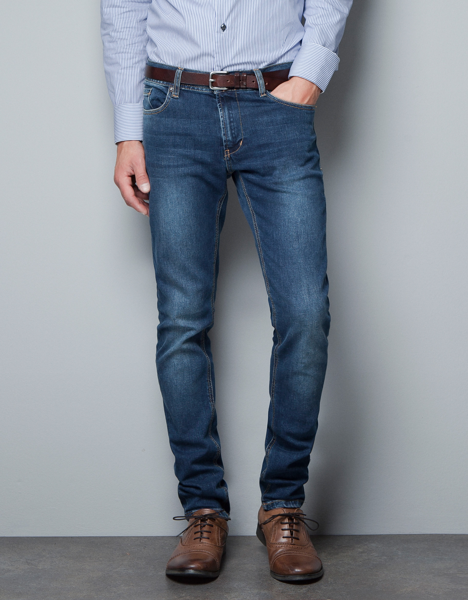Light Skinny Jeans Men
