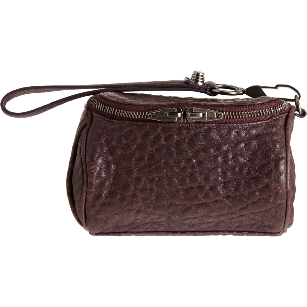Alexander Fumo Makeup Pouch In Brown Lyst