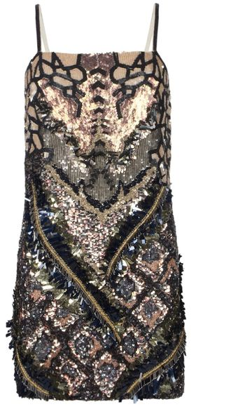 AllSaints Embellished Dreamcatcher Dress - Lyst