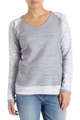 Barneys New York Co-op Raglan Sweater - Lyst