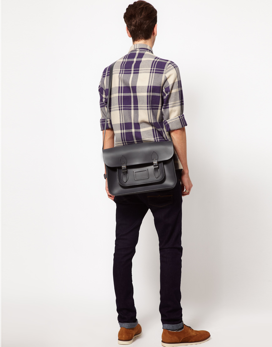 Joes jeans capos group leather doctor satchel
