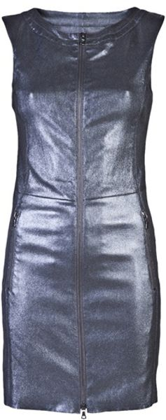 Drome Metallic Dress - Lyst