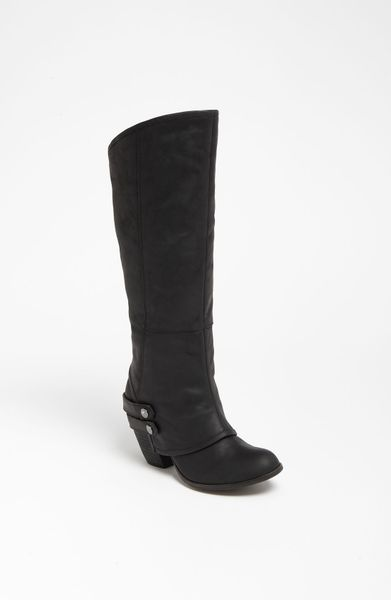 Fergie Linda Boot in Black (black leather) | Lyst Fergie Shoes