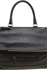 Givenchy Large Pebbled Pandora Messenger - Lyst