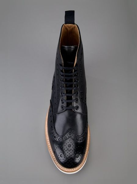 Grenson Brogues Boots Grenson Fred Brogue Boot