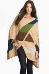 Halogen Colorblock Cape - Lyst