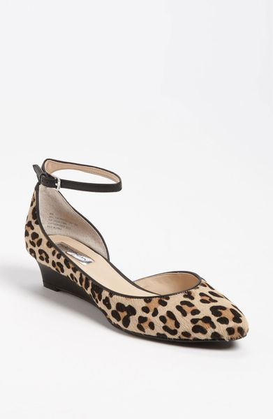 Halogen Bianca Wedge in Animal (leopard) - Lyst