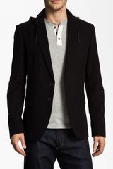 Hugo Arigos Hooded Trim Fit Blazer - Lyst