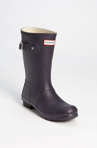 Hunter Original Short Rain Boot Women - Lyst