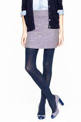 J.Crew Superopaque Tights - Lyst
