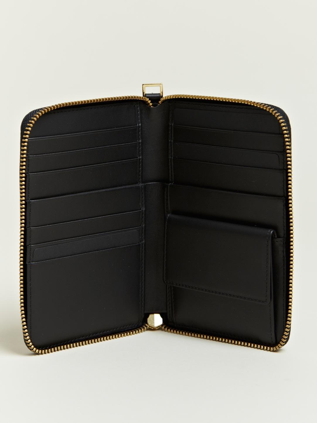 Jil sander Jil Sander Mens Vertical Wallet in Black for ...
