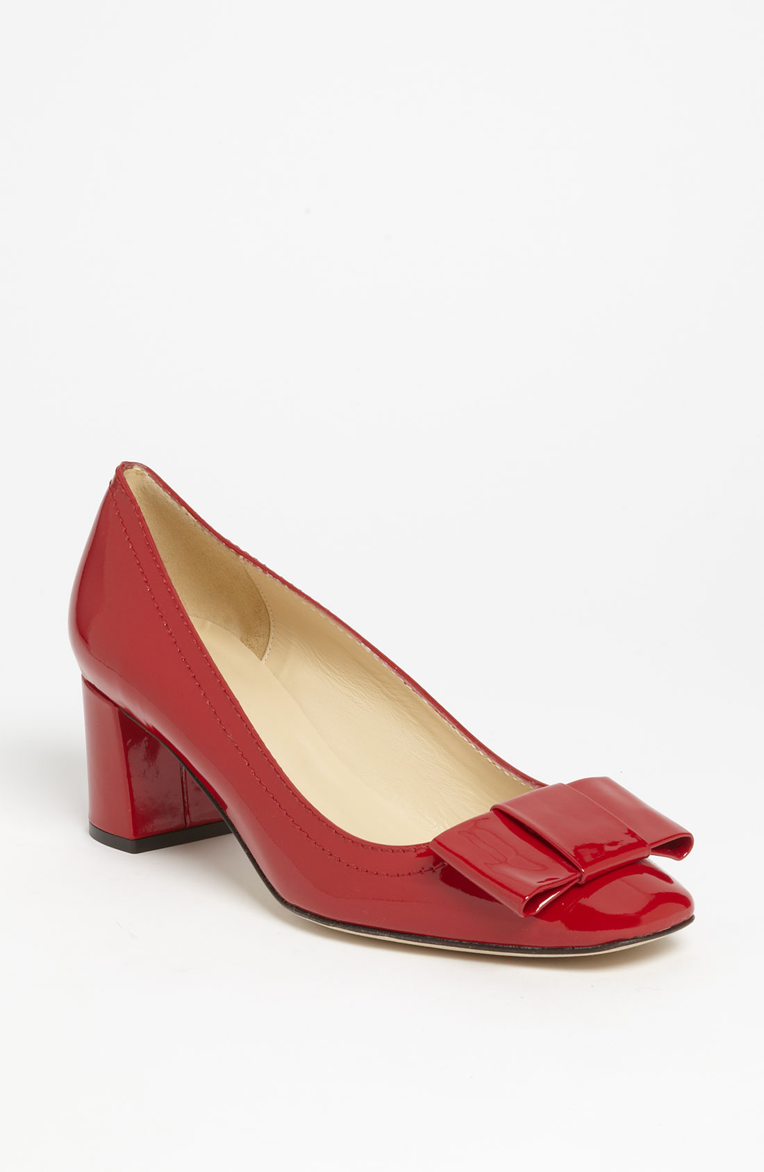 Kate Spade Red Patent Leather Shoes